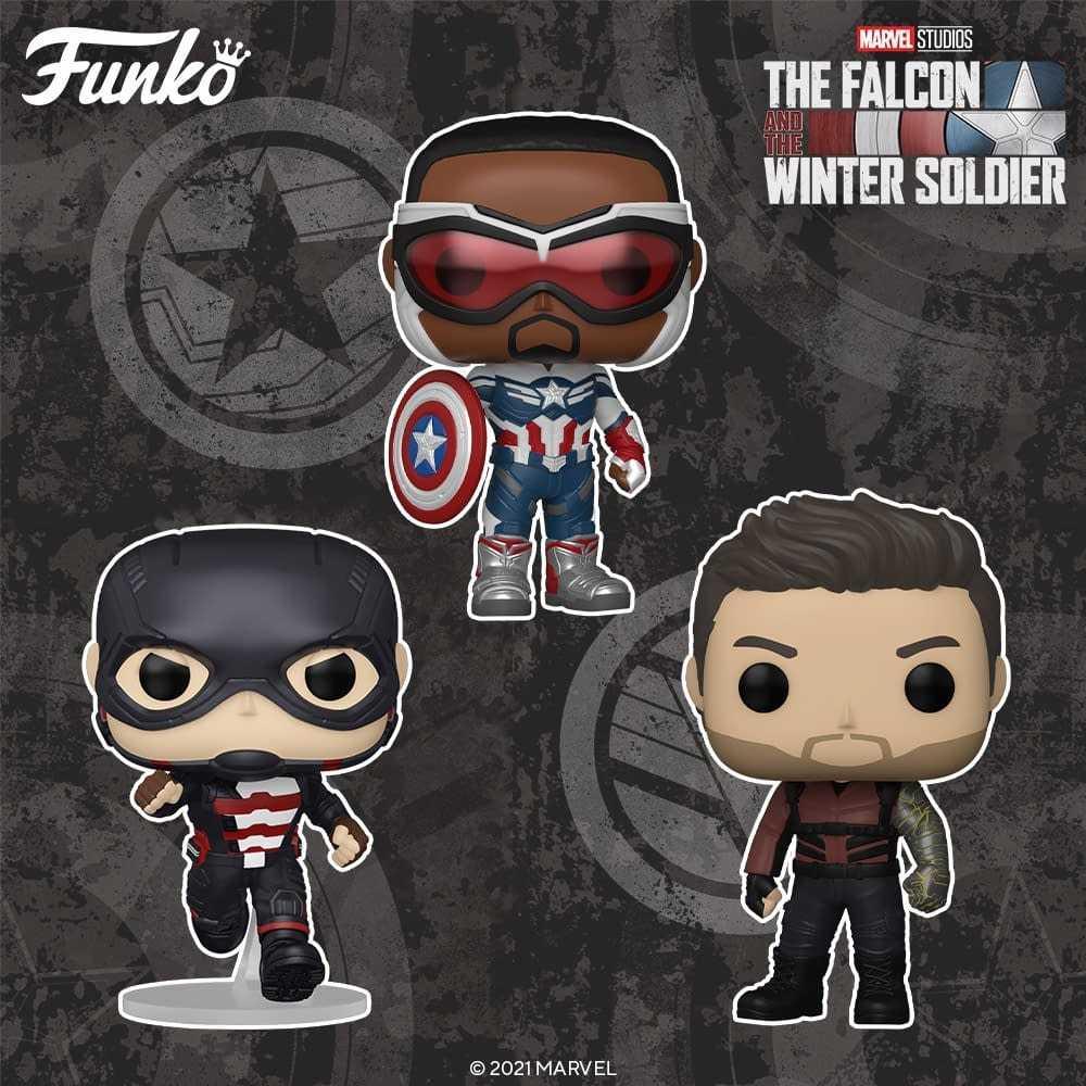 The Falcon and the Winter Soldier: ecco i nuovi Funko POP! a tema