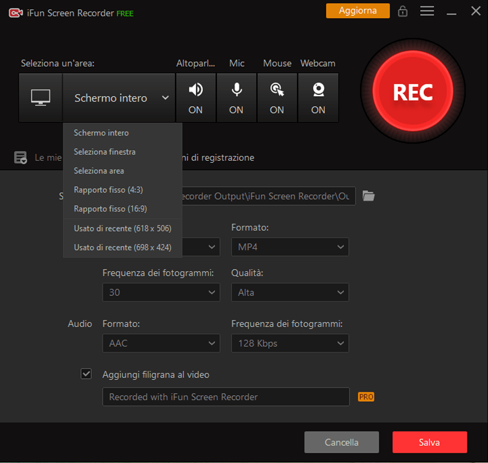iFun Screen Recorder: Record your PC screen for free and without watermark