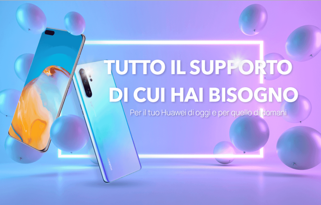 Huawei support: the new customer support campaign
