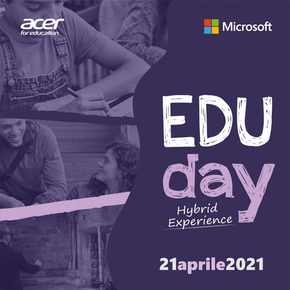 Acer for Education: presente all'evento Microsoft Edu Day
