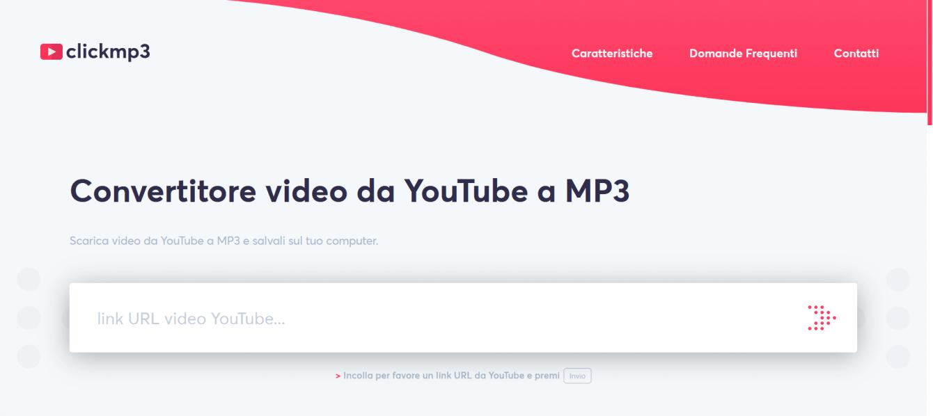 Scaricare musica da YouTube in formato mp3
