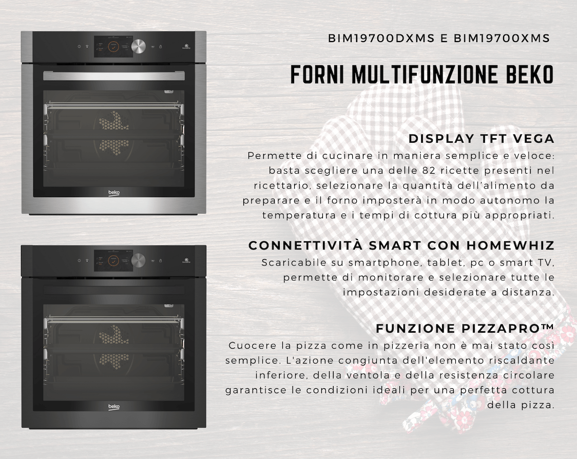 Beko Multifunctional Ovens: cooking has never been easier