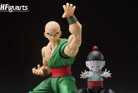 SH Figuarts: Tenshinhan e Jiaozi di Dragon Ball si aggiungono alla collezione!