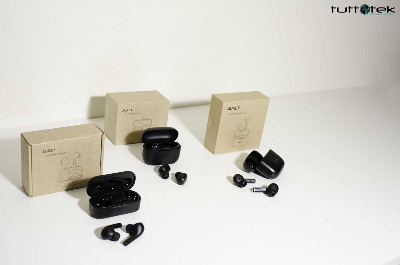 Cuffiette Bluetooth TWS Aukey: quali scegliere?