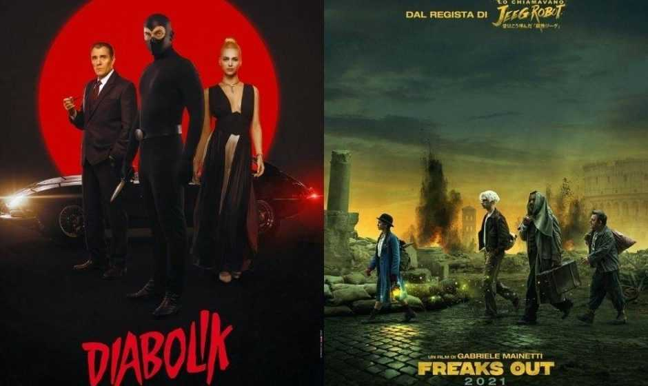 Diabolik e Freaks Out: svelate le nuove date di uscita