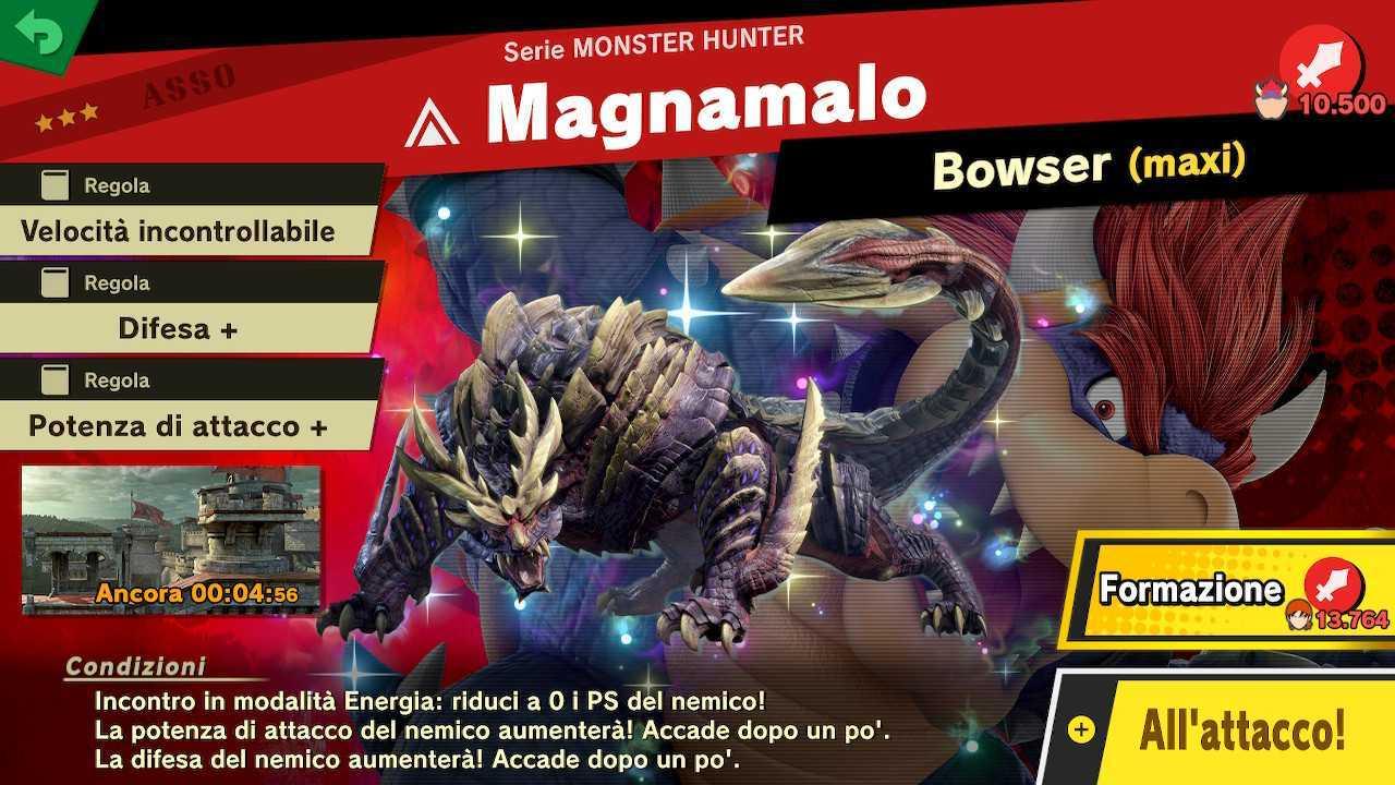Super Smash Bros. Ultimate: Spiriti di Monster Hunter Rise e come ottenerli