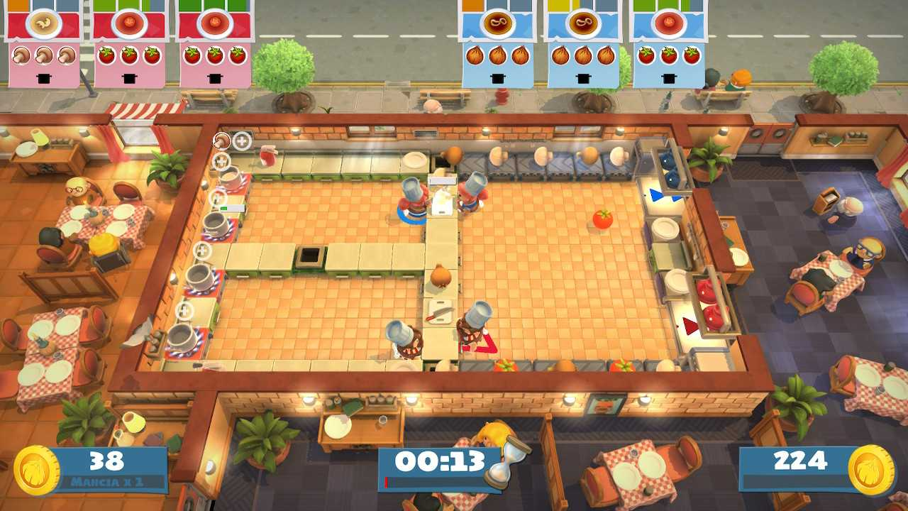 Recensione Overcooked: All You Can Eat, un delirante e squisito buffet
