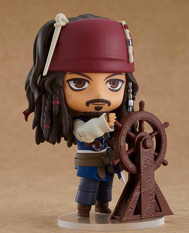 Pirati dei Caraibi: ecco la nuova figure Nendoroid di Jack Sparrow!