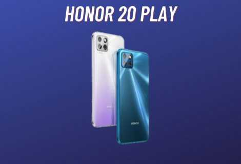 Honor Play 20: svelato ufficialmente il nuovo entry level