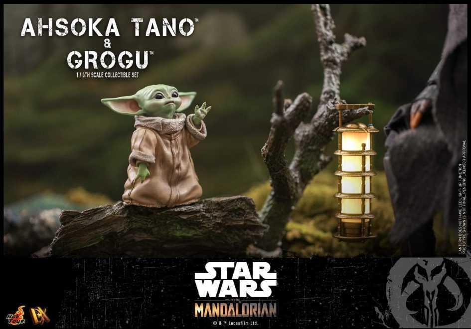 The Mandalorian: presentate le nuove figure di Ahsoka Tano e Grogu by Hot Toys