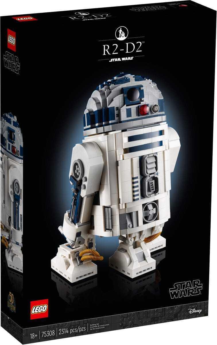 LEGO R2-D2: ecco la data d'uscita del nuovo set di Star Wars