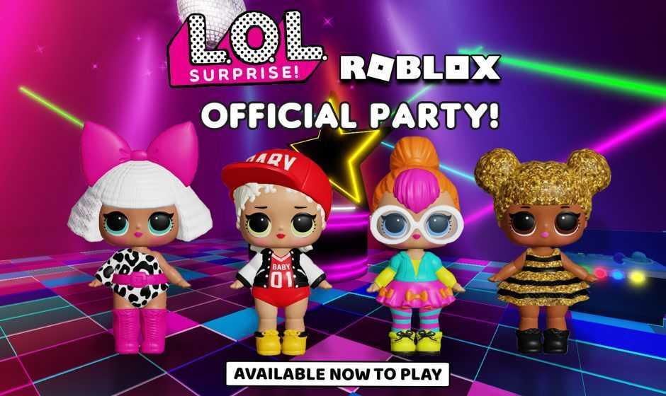 Roblox: arrivano le LOL Surprise con look esagerati e balli