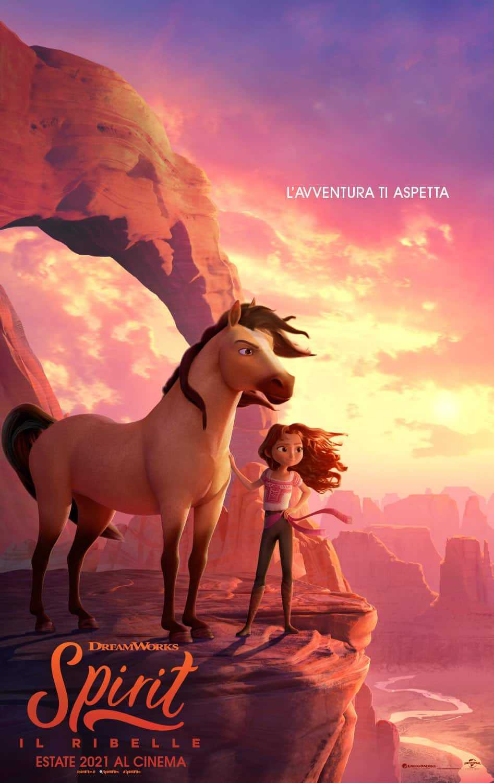 Spirit - Il Ribelle: il nuovo film con il selvaggio cavallo Spirit