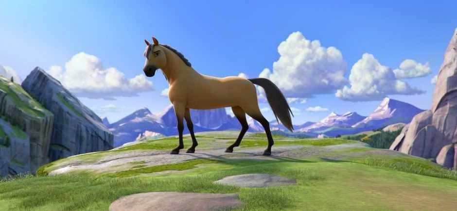 Spirit – Il Ribelle: il nuovo film con il selvaggio cavallo Spirit
