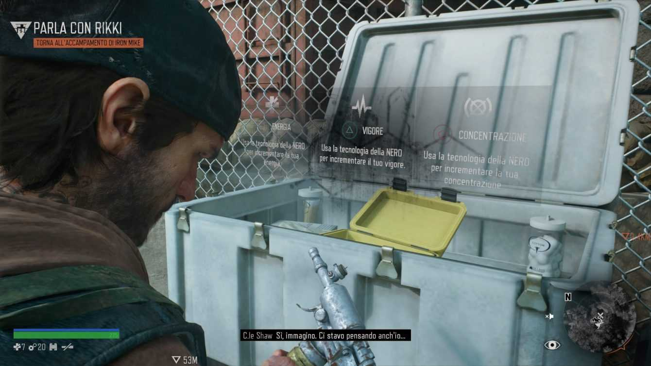 Days Gone: where to find and how to reach NERO research sites