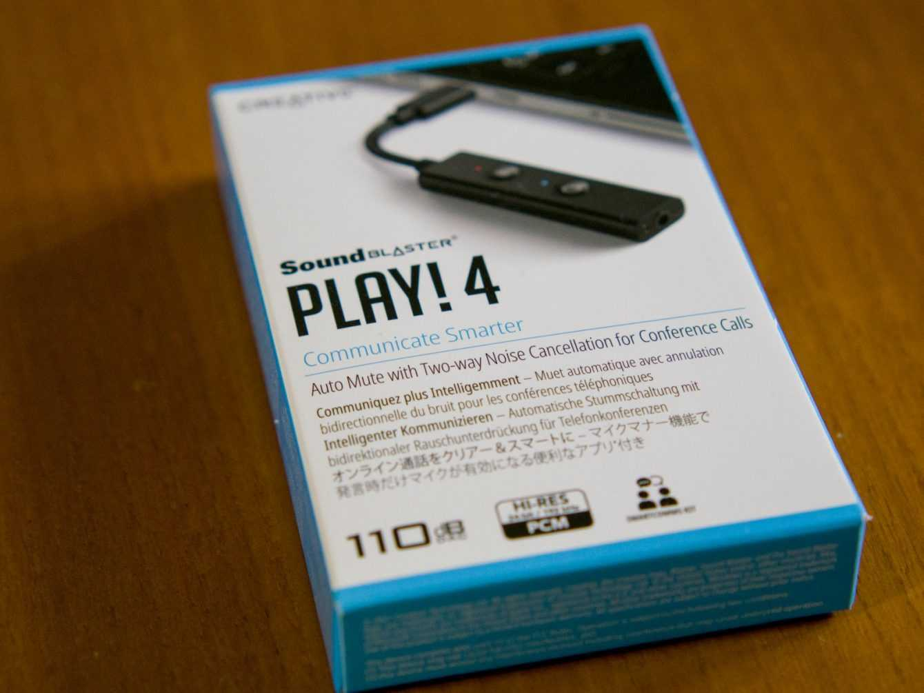 Recensione Creative Sound Blaster PLAY! 4