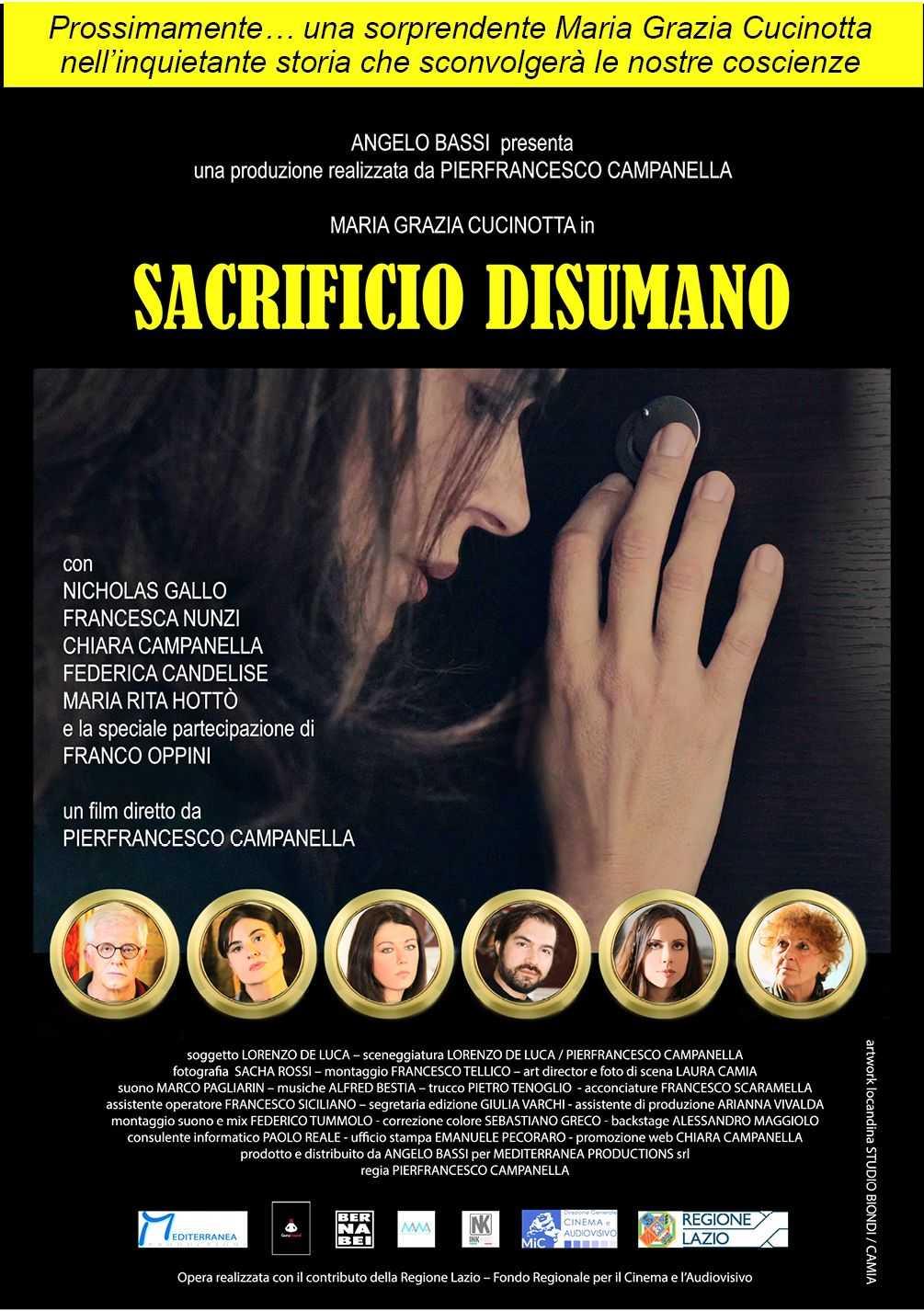 Sacrificio Disumano: lo sconcertante corto diretto da Campanella