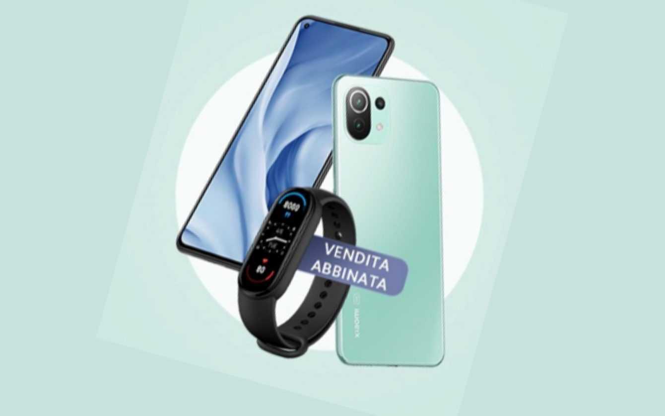 Mi 11 Lite 5G official: bundle with Mi Smart Band 6
