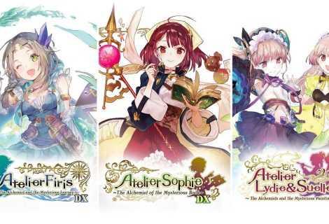 Atelier Mysterious Trilogy Deluxe Pack: la collection è disponibile!