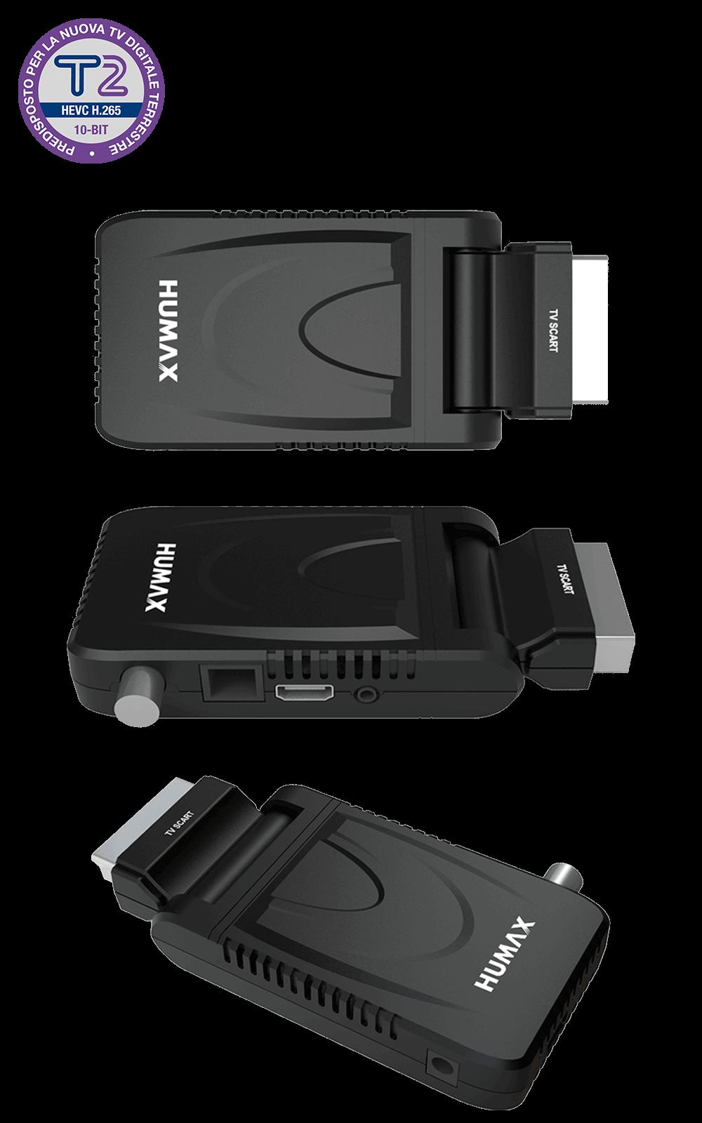 Humax Digimax HDR - HD-2021T2: decoder digitale terrestre DVB-T2