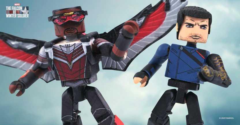 The Falcon and the Winter Soldier: Walgreens annuncia i Minimates