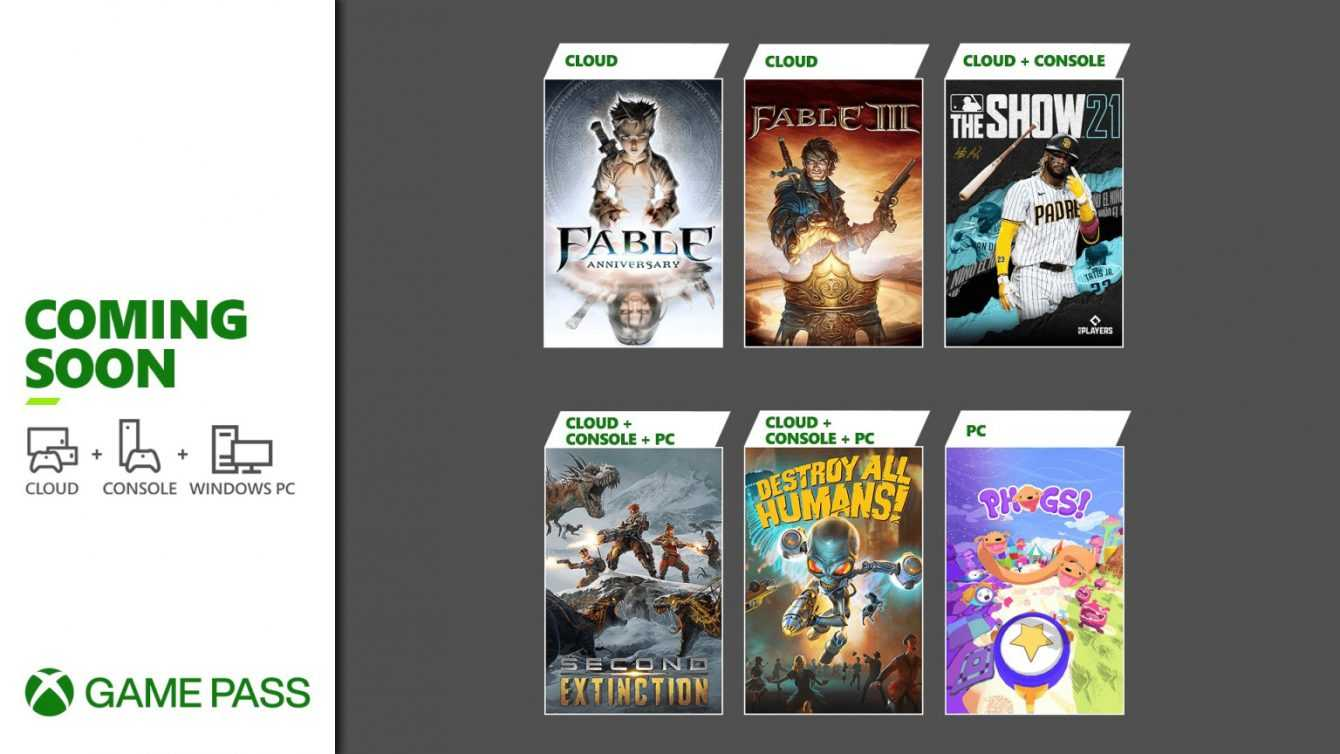 Xbox Game Pass: Here are the latest games for April