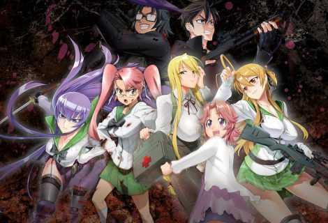 Highschool of the Dead, di Daisuke Satō   Anime e inchiostro