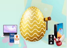 Huawei AppGallery: nuove app e tante sorprese per Pasqua