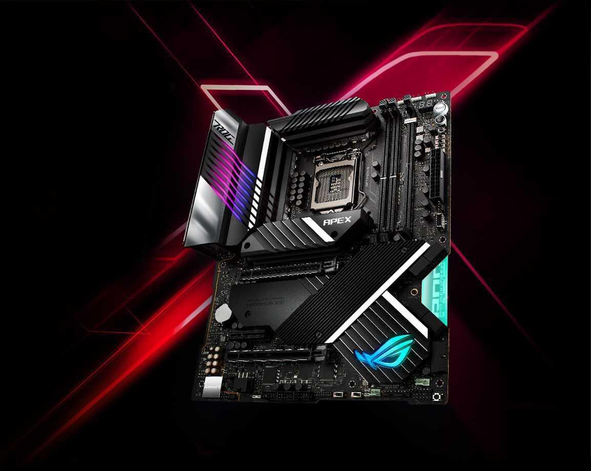 Asus ROG Maximus XIII Apex: la motherboard dei record