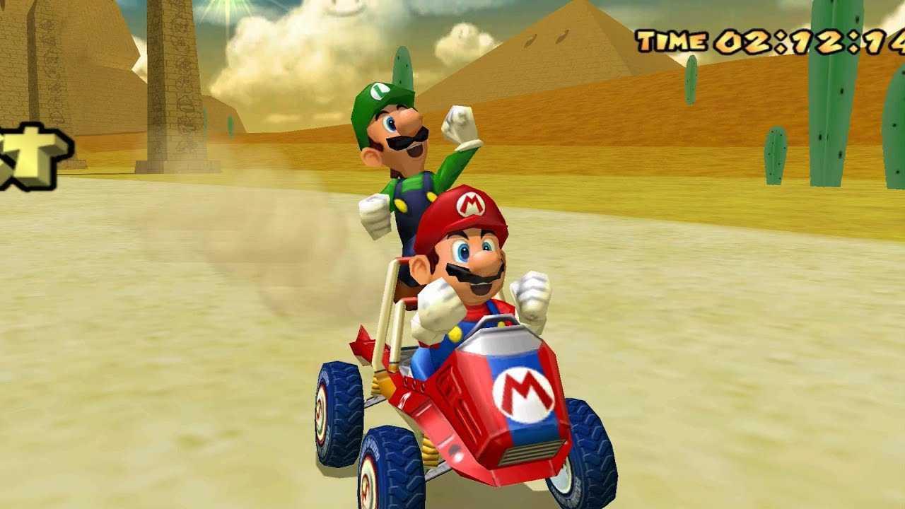 Retrogaming, Mario Kart: Double Dash!! Corse, doppiamente folli!