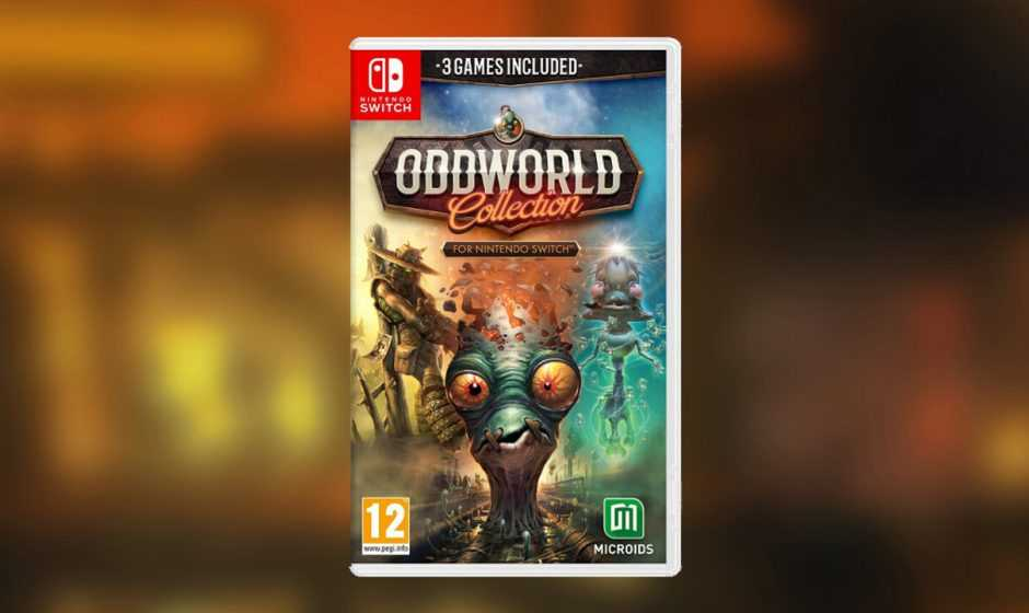 Oddworld Collection: annunciata la data d'uscita per Switch