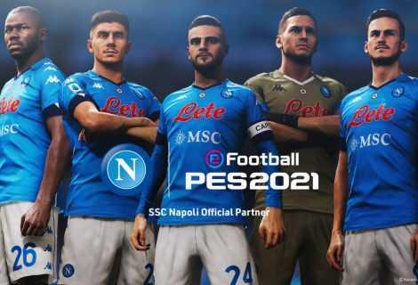 eFootball PES: la SSC Napoli diventa partner ufficiale Konami