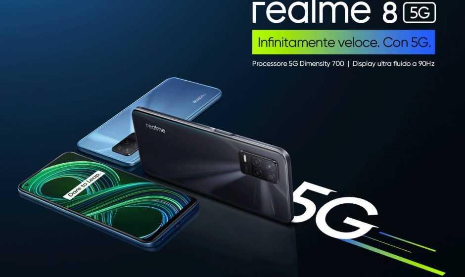 Realme 8 e Realme 8 5G: annunciati per il territorio europeo