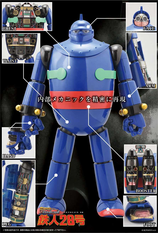 Evolution Toy: aperti i preorder di Tetsujin 28-go Super Metal Action