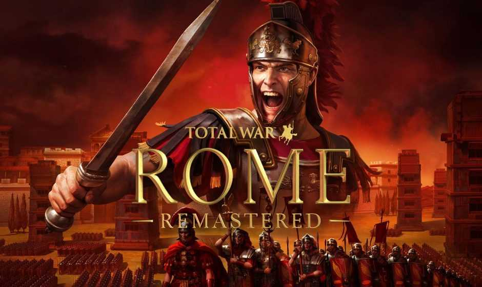 Total War: Rome Remastered, svelati i requisiti per PC