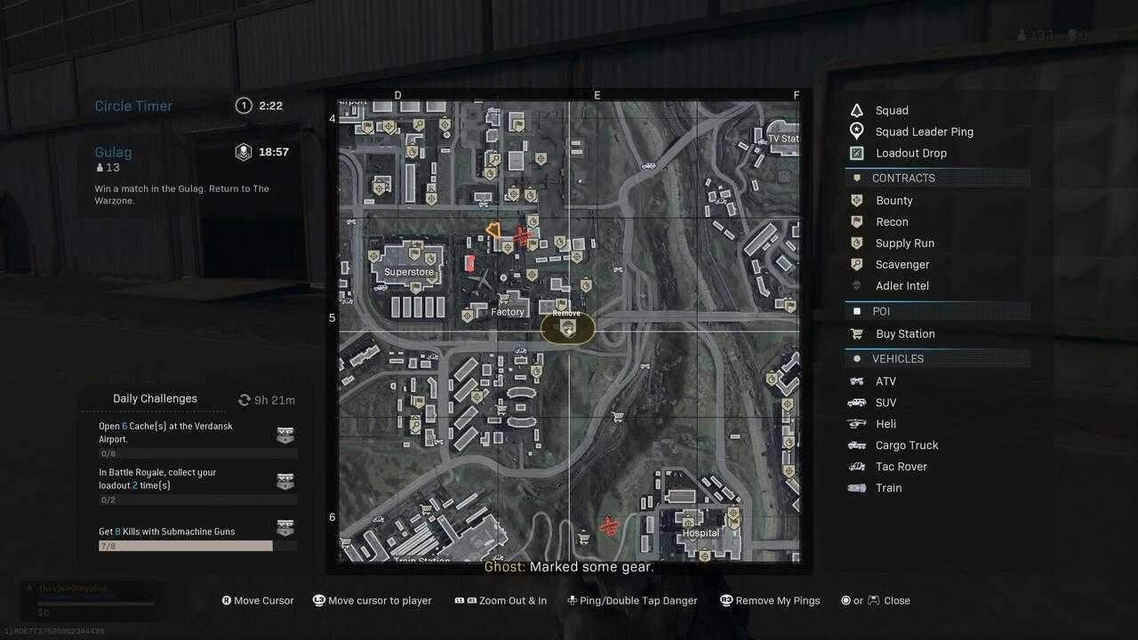 Call of Duty: Warzone, here is the location of all Adler contracts