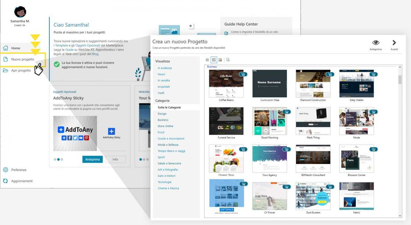 WebSite X5 Go: here's how to get 10 more templates for free