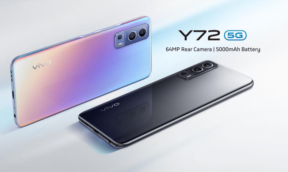 Vivo Y72 5G: presentato ufficialmente in Italia