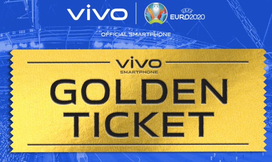Vivo Golden Ticket: l'opportunità per EURO2020
