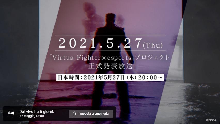 Virtua Fighter: arriveranno a breve novità sul nuovo progetto eSport
