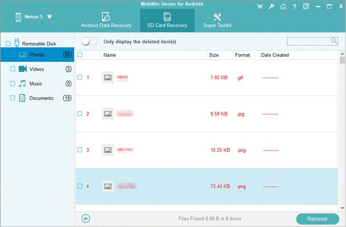 MobiKin Doctor per Android, recupera rapidamente i dati cancellati