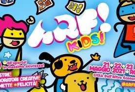 ARF! KIDS, la fiera del fumetto, torna a Roma dal 21 maggio