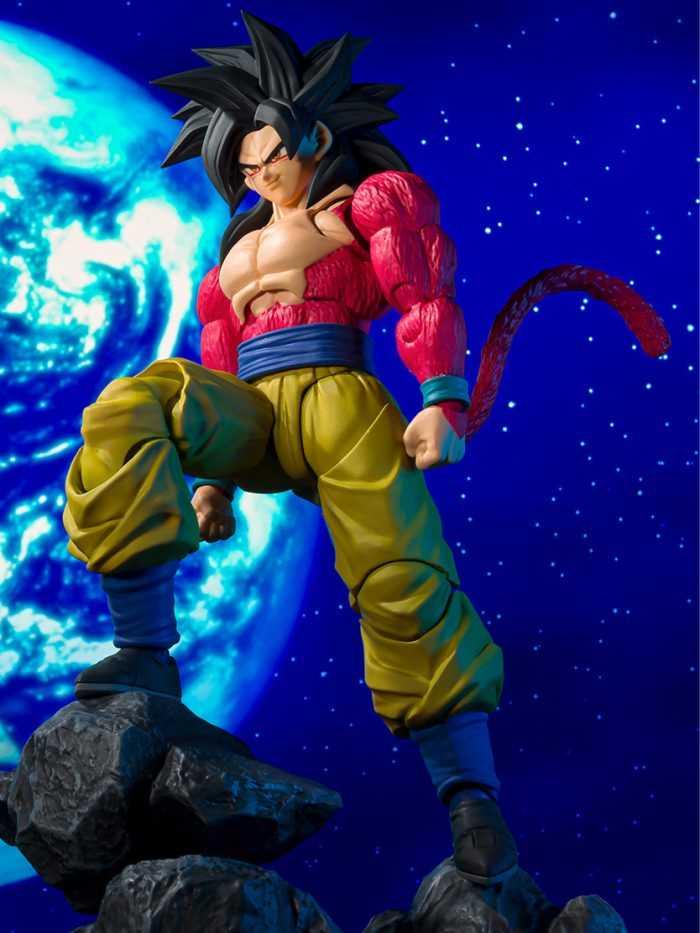 Goku Super Saiyan 4 arrives in Bandai's SHFiguarts