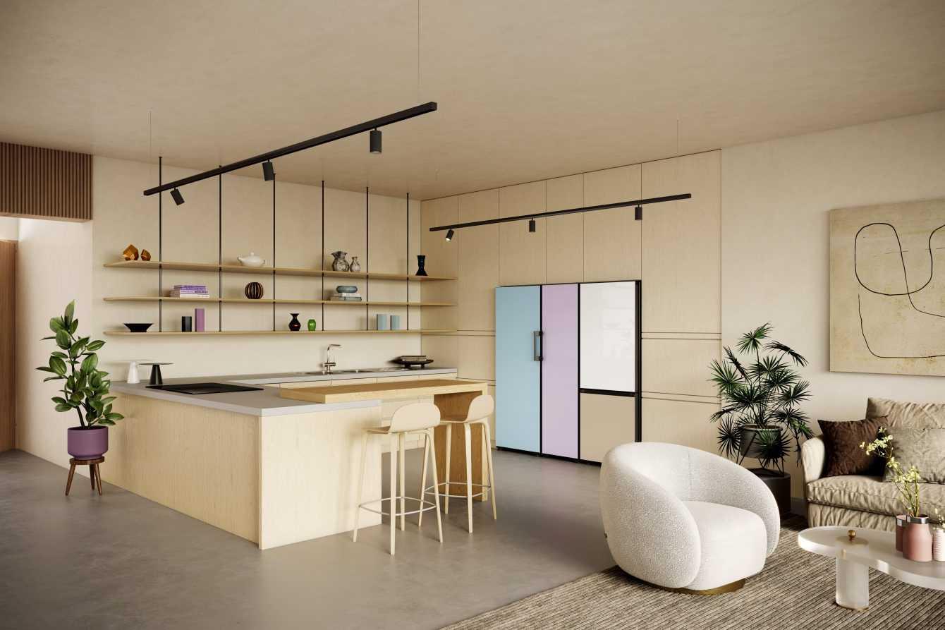 Samsung BESPOKE: a modular, customizable and smart refrigerator