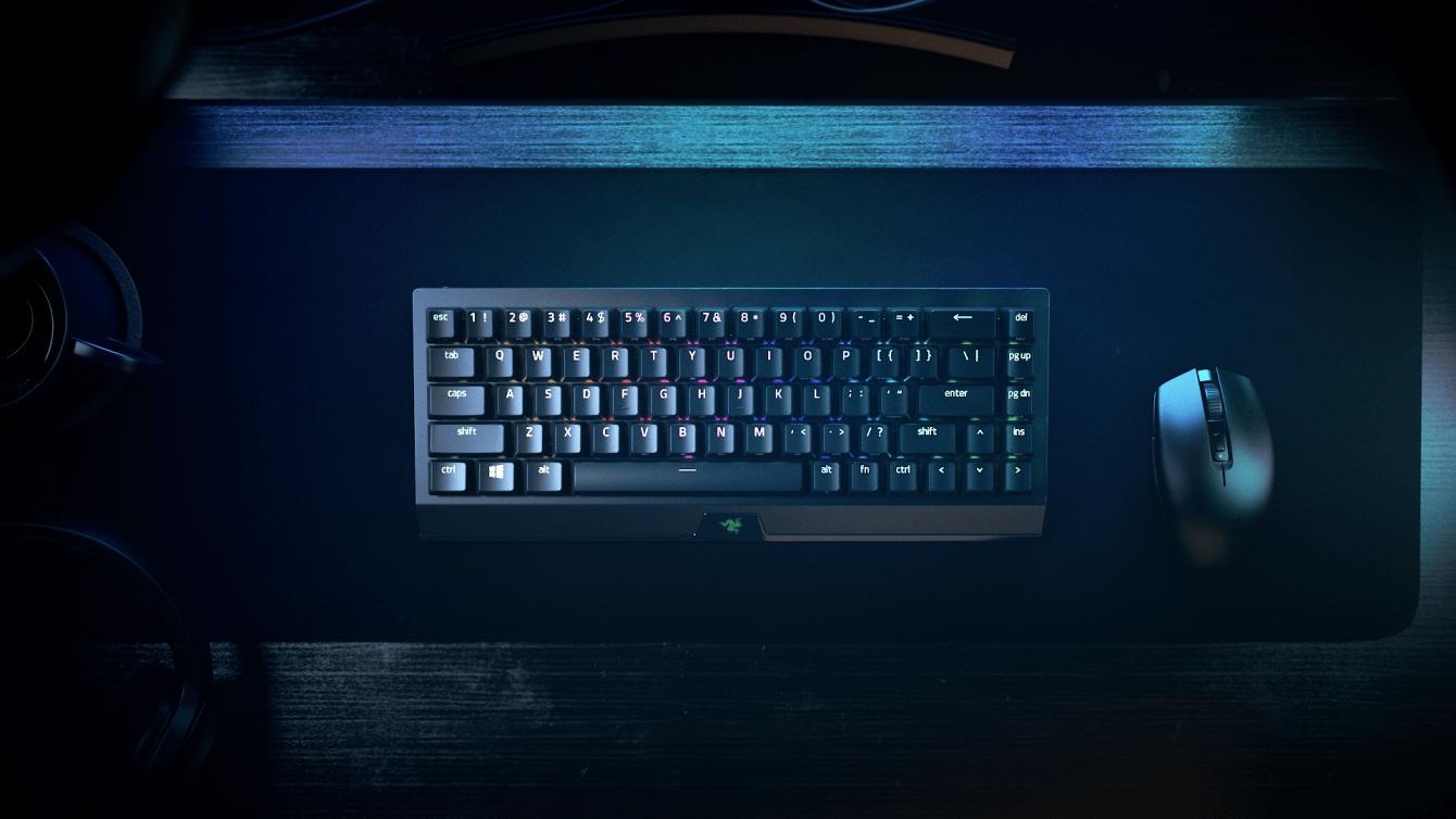 Razer: ecco la nuova tastiera BlackWidow V3 Mini HyperSpeed