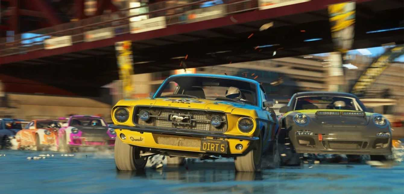DIRT 5: Cross-play coming in the May update