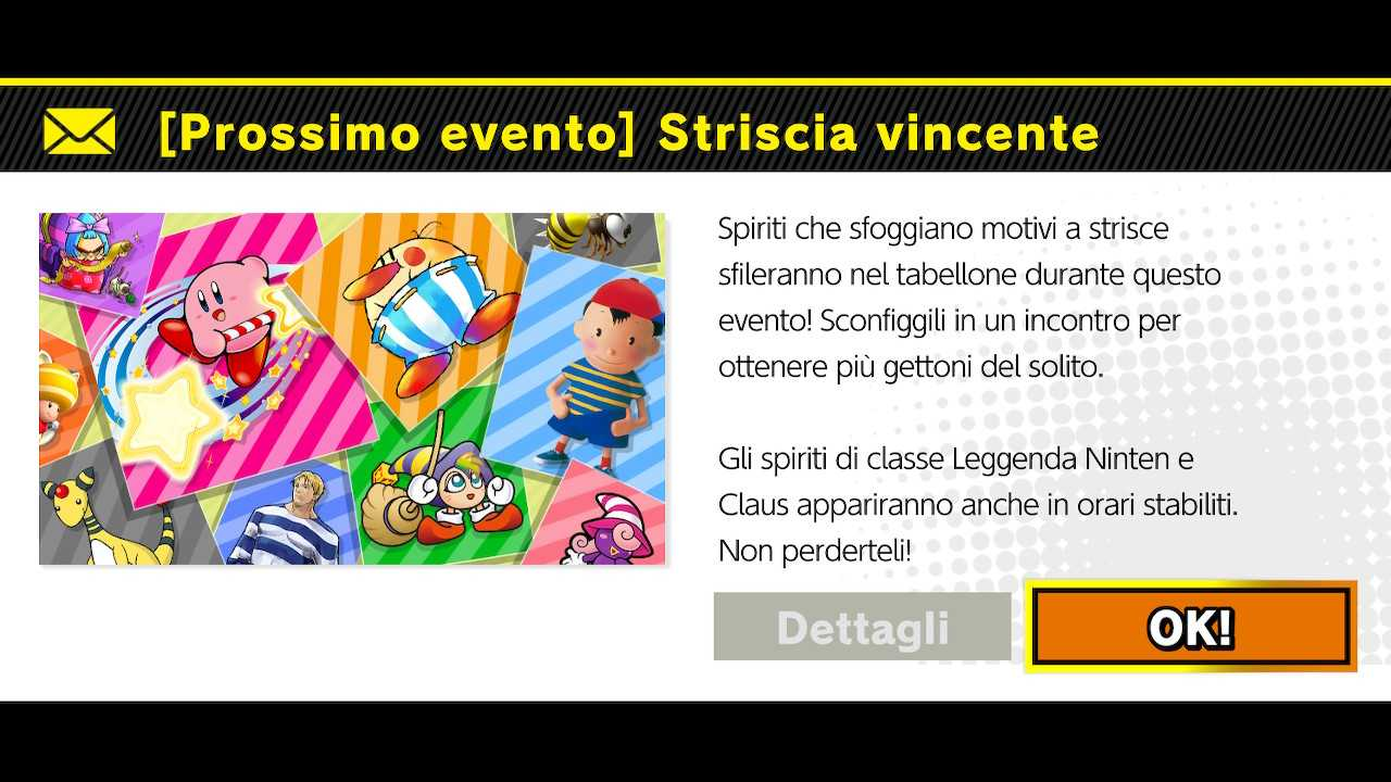 """Super Smash Bros. Ultimate: evento del weekend """"Striscia vincente"""""""