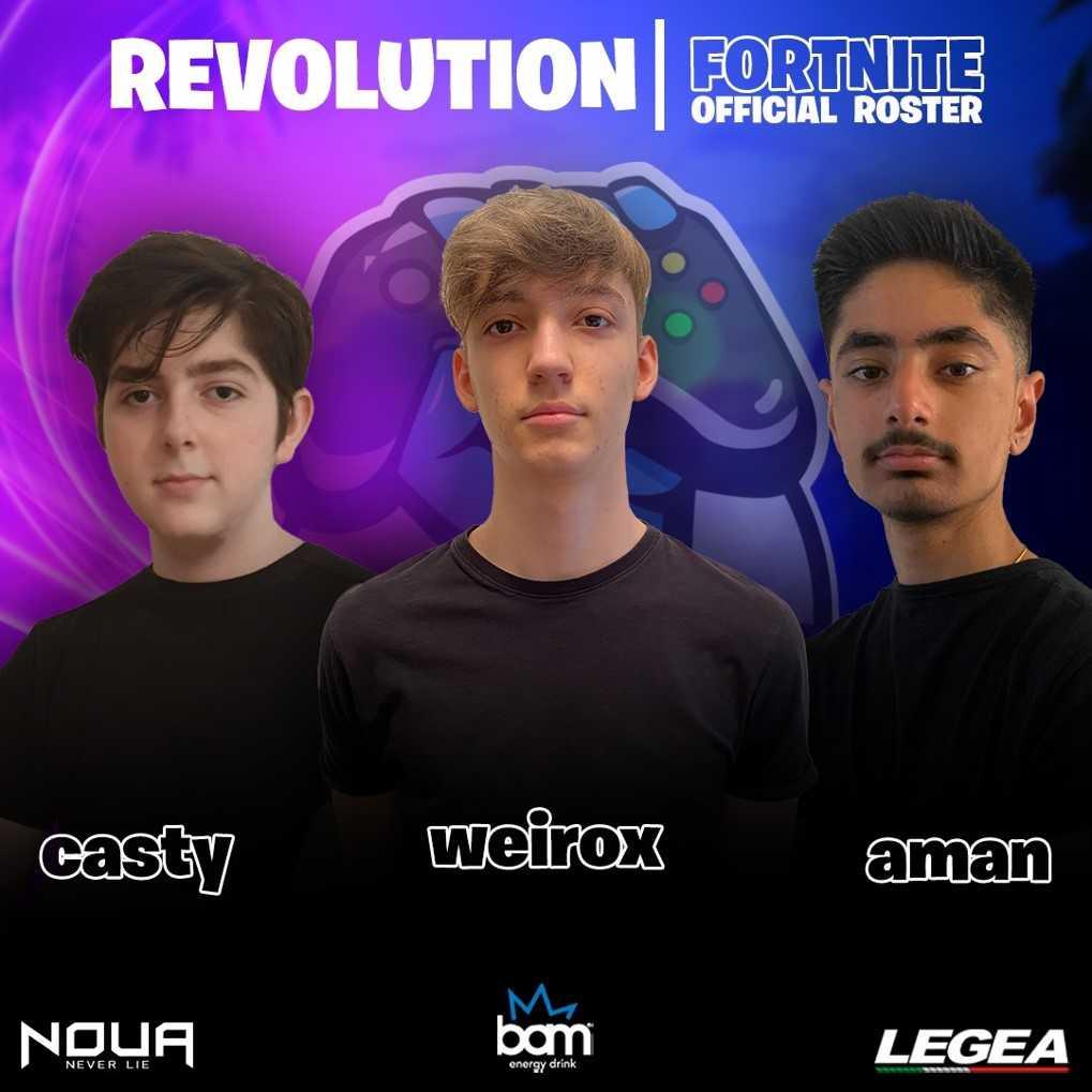 Esport Revolution: presentati i team ufficiali