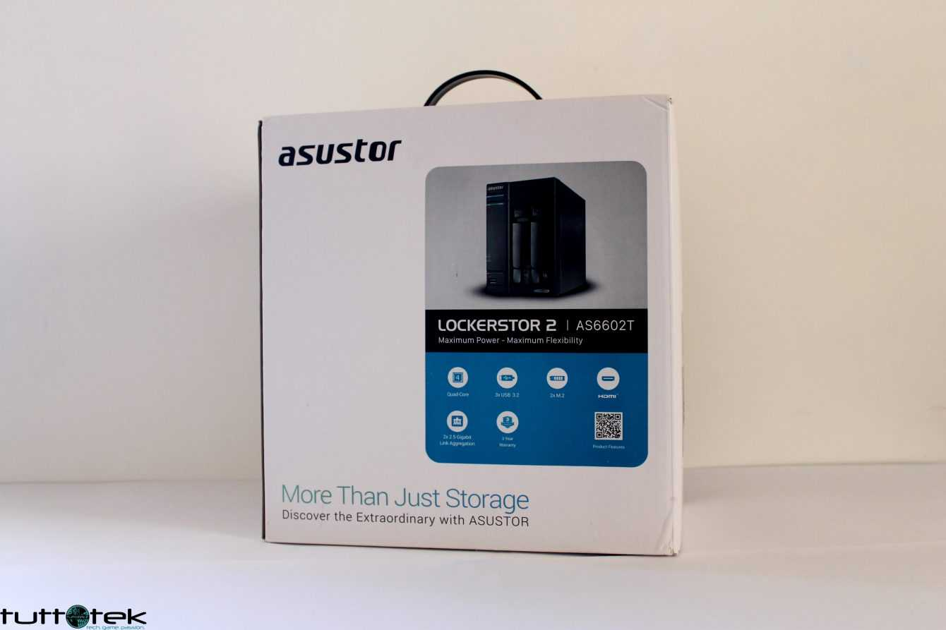 NAS Asustor Lockerstor 2 Review: Quick and Easy Networking