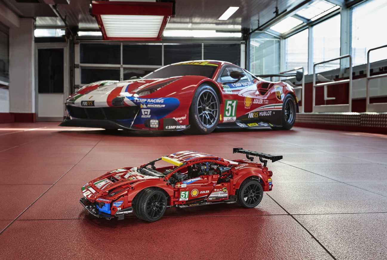 LEGO and Ferrari join forces for the Ferrari Esport Series tournament
